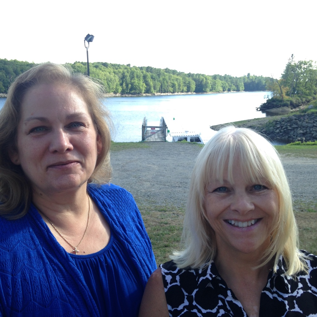 Donna and I in Maine
